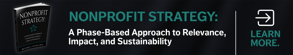 Nonprofit Strategy book - learn more
